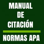 Manual de citación. Normas APA