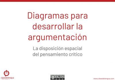 Diagramas para desarrollar la argumentación